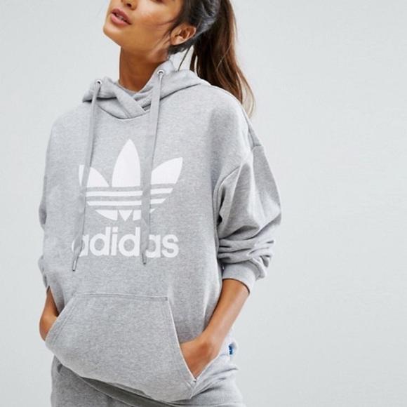 adidas hoodie trefoil